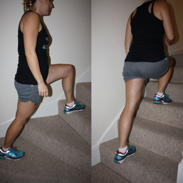 stair-lunge