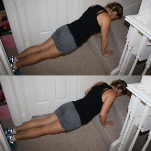 stair-push-up